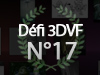 DEFI 3DVF N17 - Crez le Trophe 3DVF