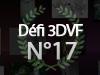 DEFI 3DVF N°17 - Créez le Trophée 3DVF