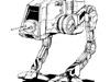Modélisation d'un Walker de Starwars