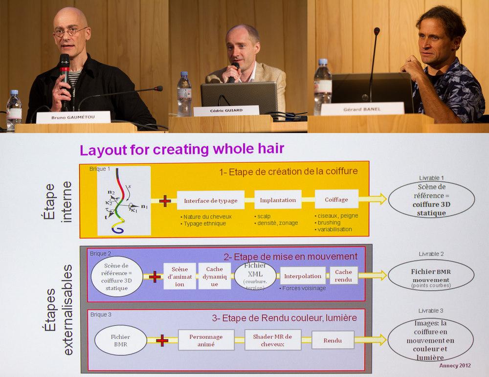 Conférence tissu cheveux