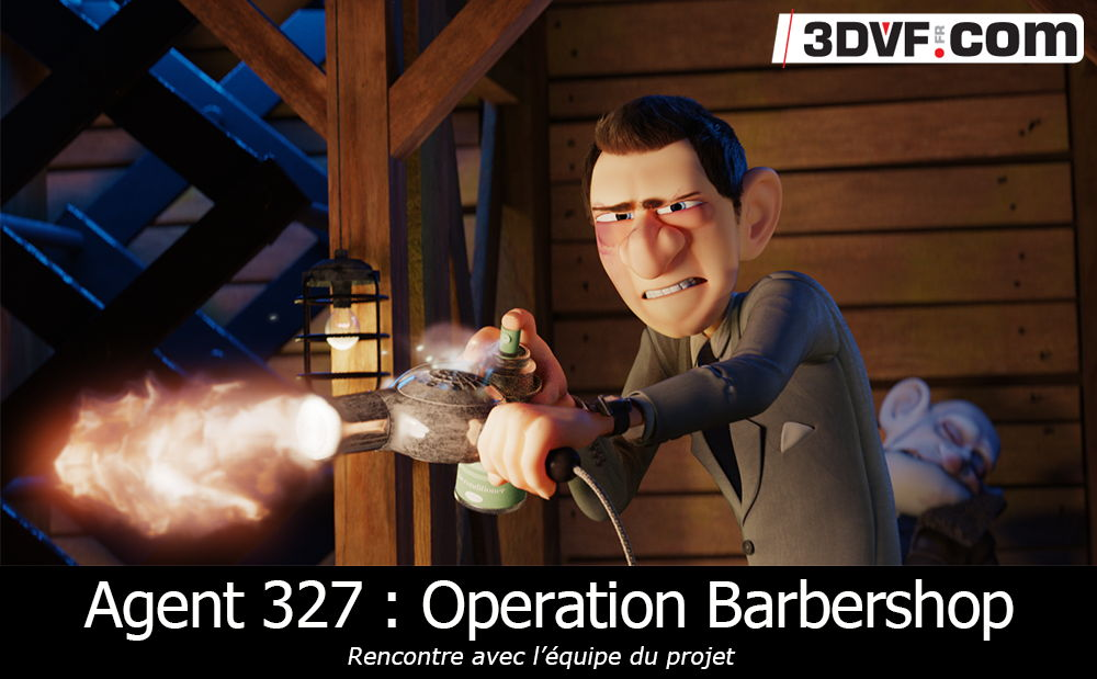 Agent 327 : Operation Barbershop