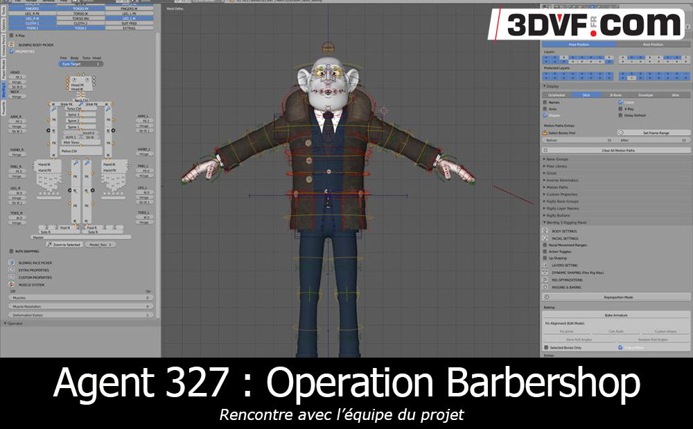 Agent 327 : Operation Barbershop