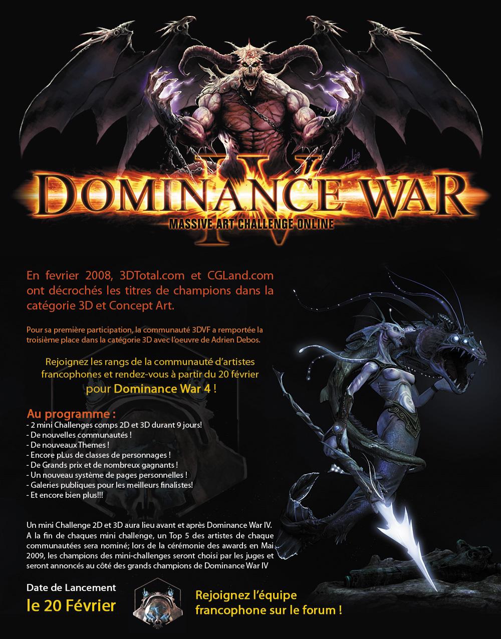 Dominance War 4 - 3DVF
