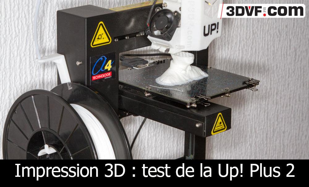 imprimante 3d test de la up plus 2. Black Bedroom Furniture Sets. Home Design Ideas