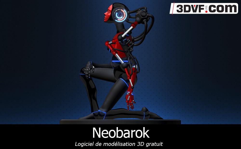 Neobarok outil de mod lisation gratuit et atypique for Modelisation 3d gratuit