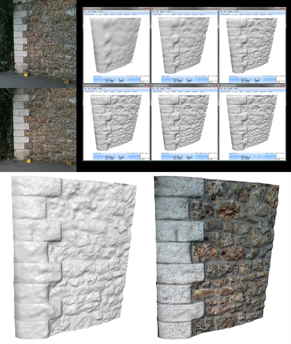 Mur - Photosculpt