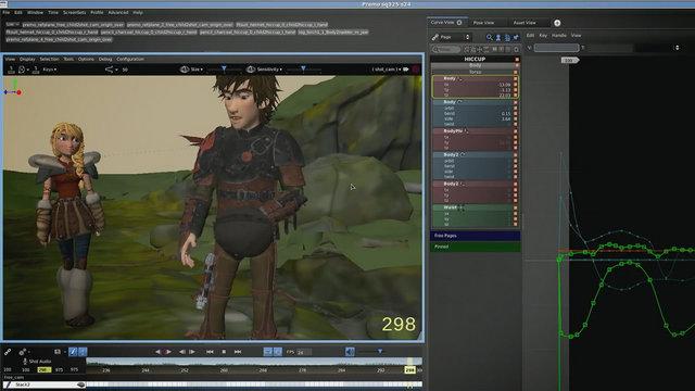 Dragons 2 De Nouveaux Outils Pour Dreamworks Animation 3dvf