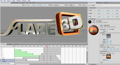 Flare 3D