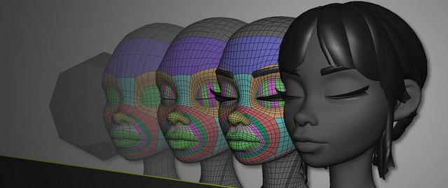 Modélisation Faciale