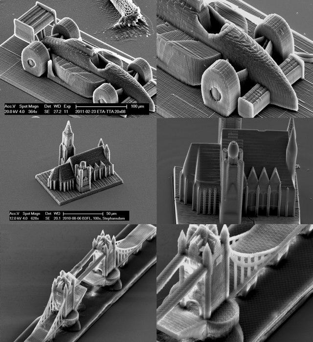 Impression 3D nanométrique