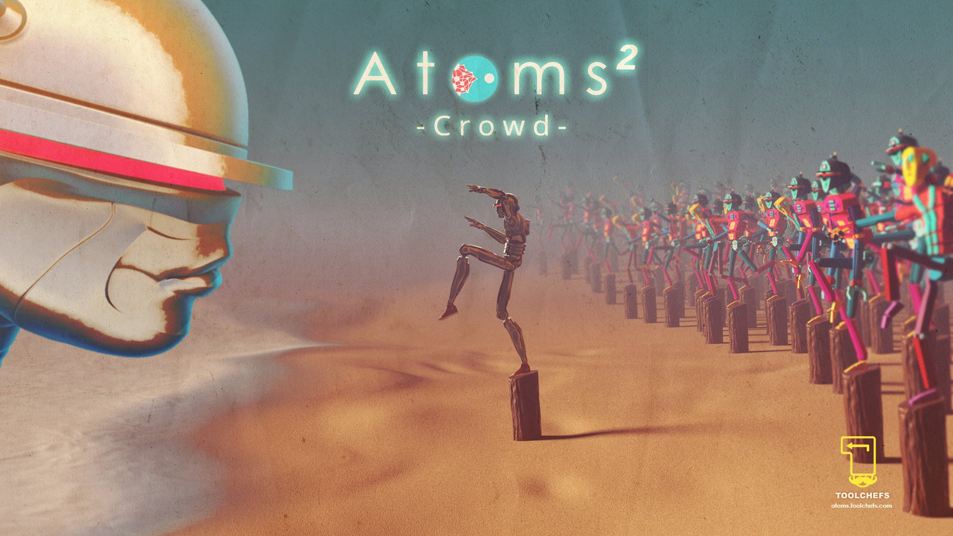 Atoms Crowd 2