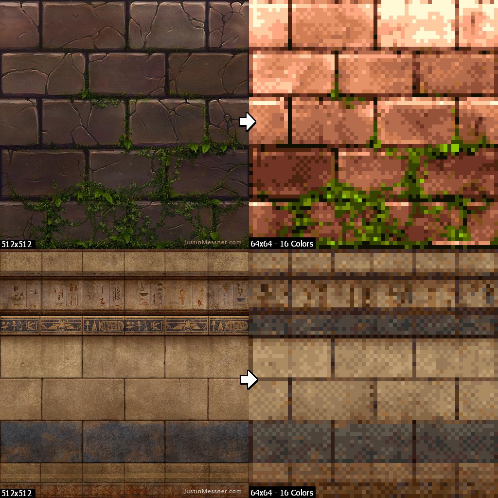 Pixatool Un Logiciel Pour Convertir Vos Visuels En Pixel Art 3dvf