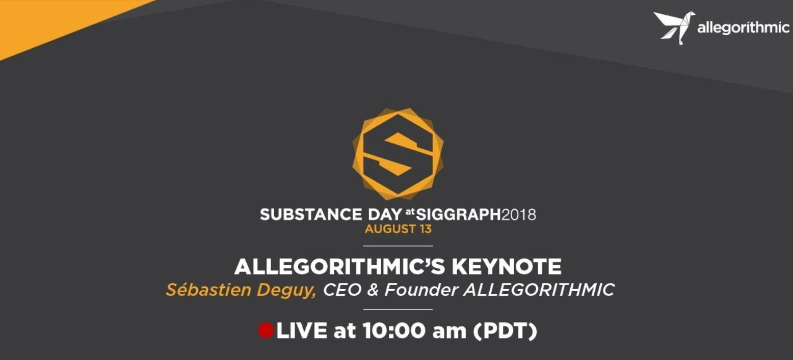 SIGGRAPH 2018