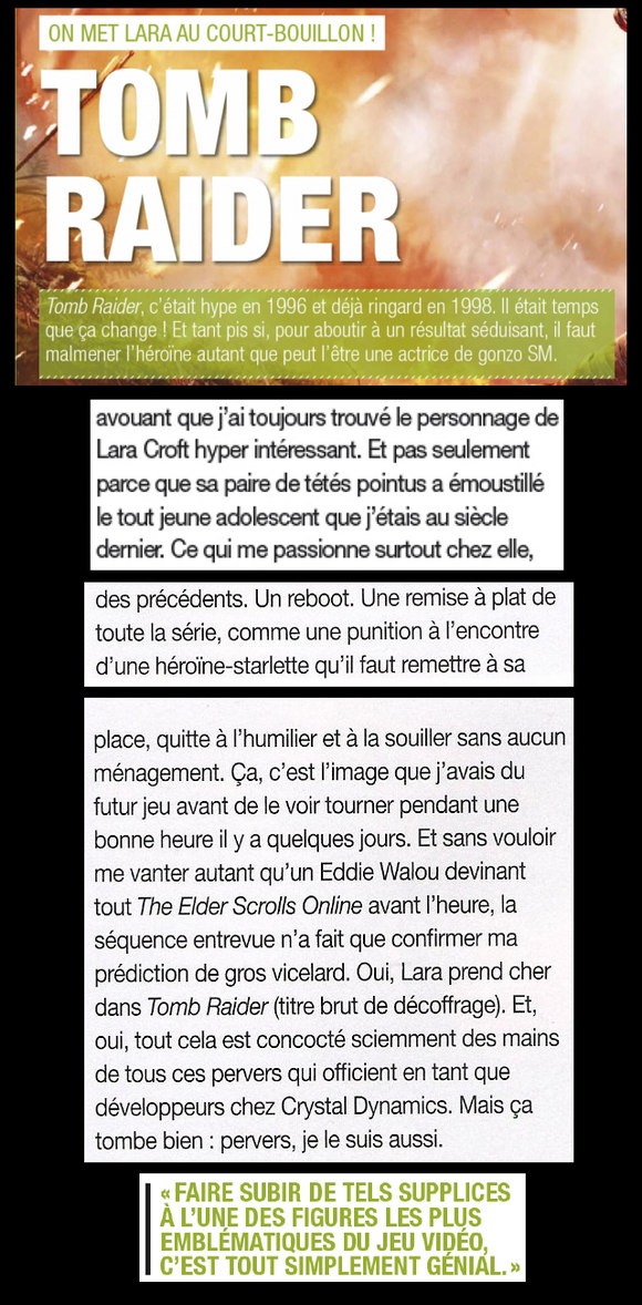 Lara - Joystick