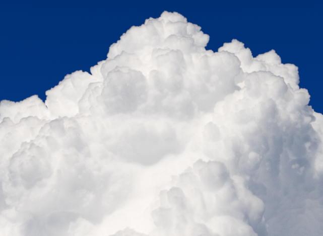 nuage - détail