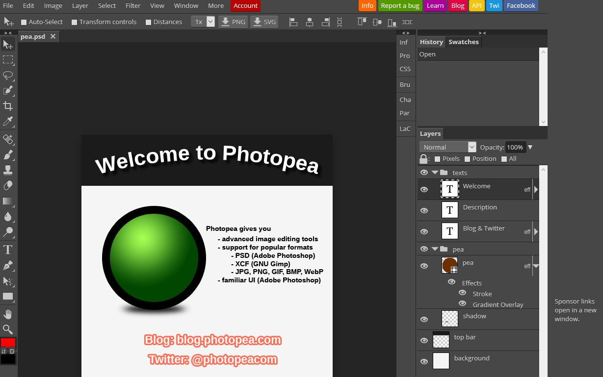 Photopea Un Editeur D Images En Ligne Et Gratuit 3dvf