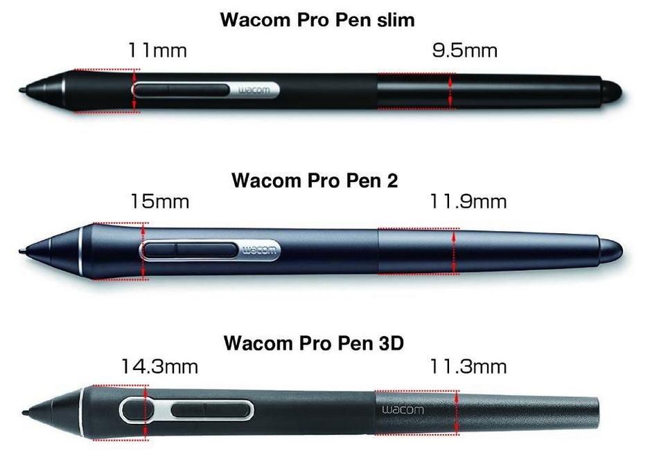 Wacom lance le Pro Pen Slim, un nouveau stylet plus fin - 3DVF