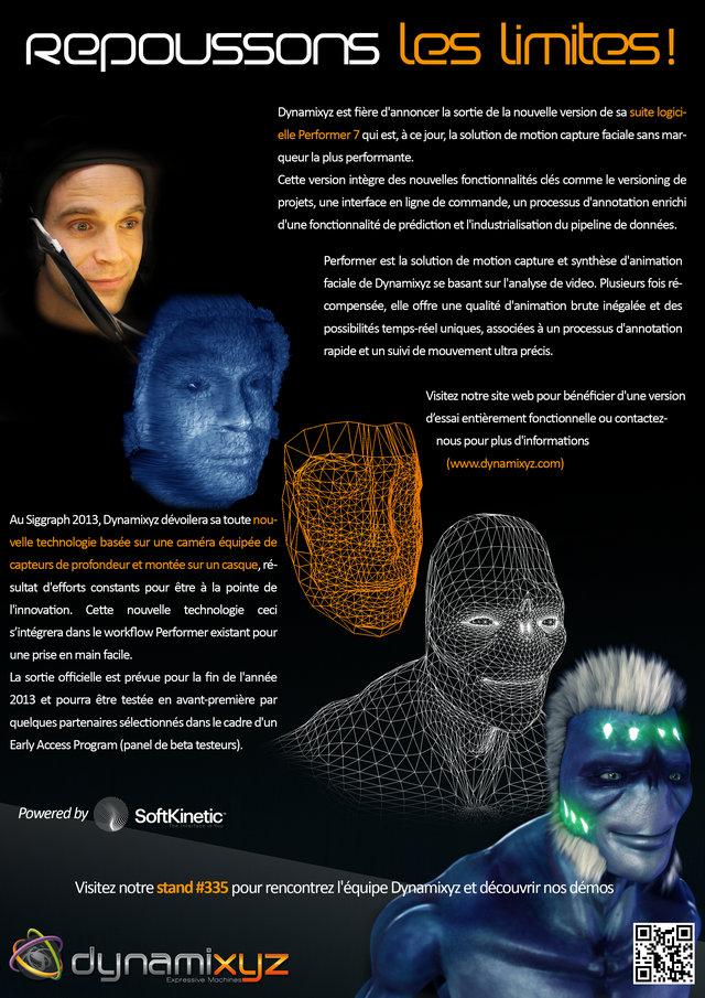 Dynamixyz - SIGGRAPH 2013